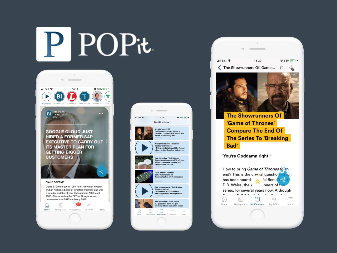 Pop-it Application mobile