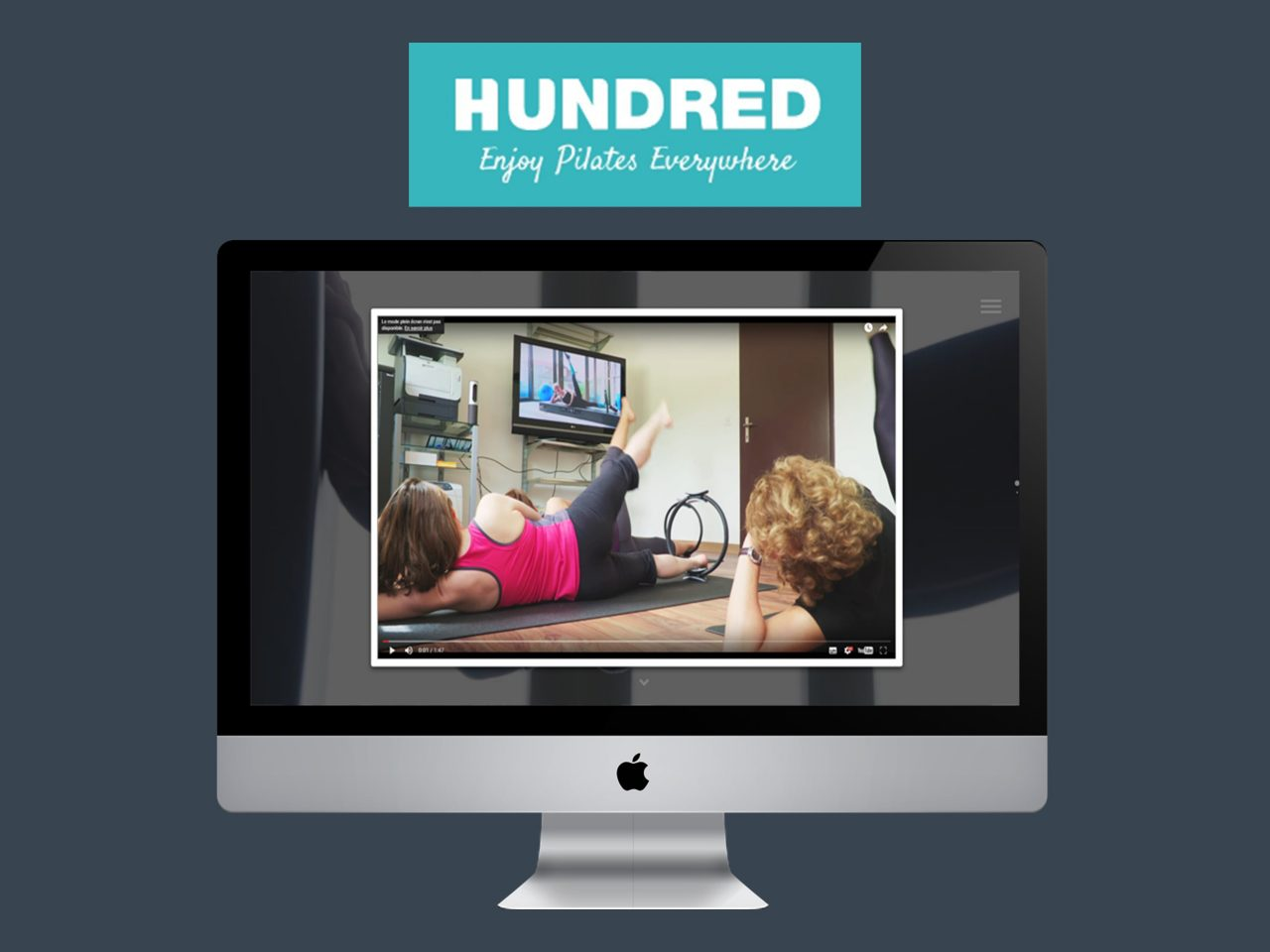 hundred pilates web application live streaming yoga