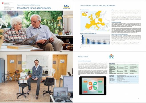 kevin salvi in aal research brochure