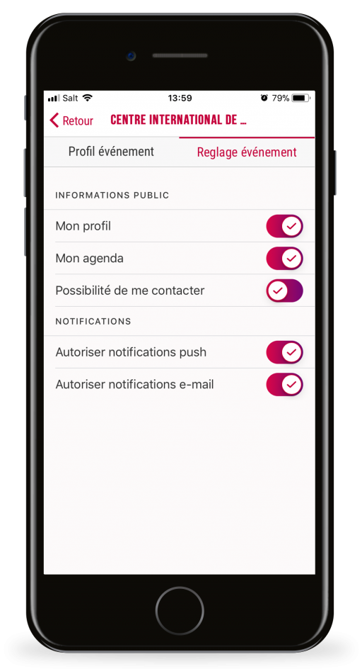 CICG Mobile application iOS Android MobileThinking Geneva