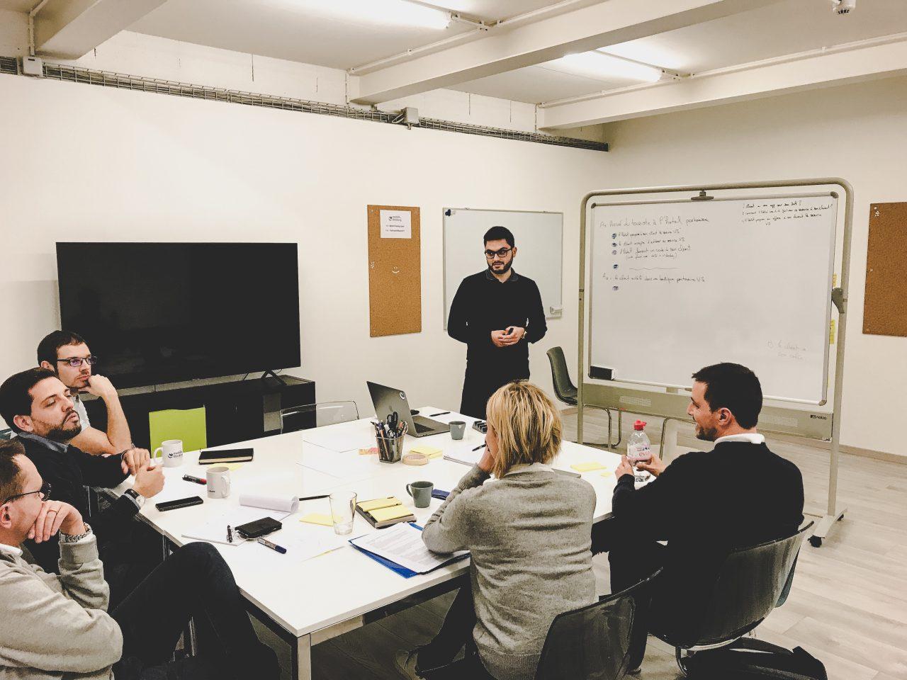 Hassan Helbawi Atelier de conception Genève Design thinking