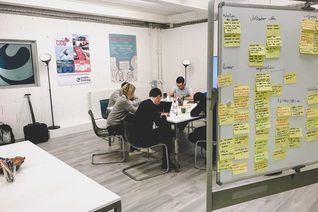 Atelier de conception Genève Design thinking
