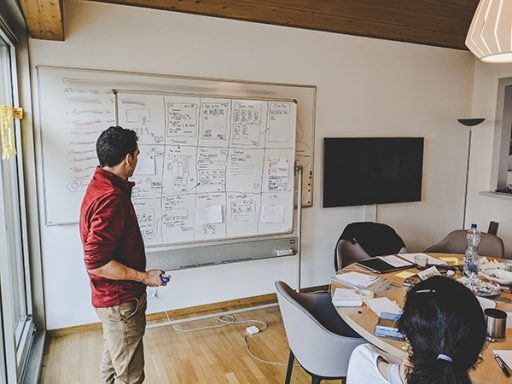 Sprint design and workshops mobile application conception