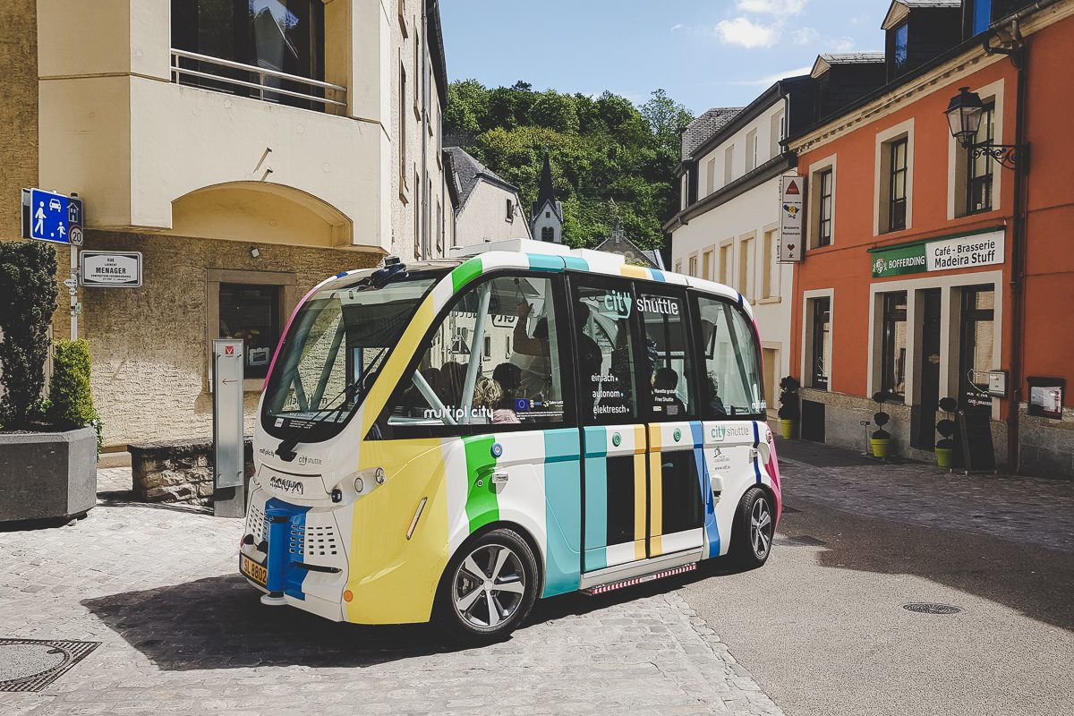 Autonomous Vehicles Luxembourg Sales-Lentz
