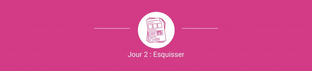 3/7 Jour 2 Esquisser - Design Sprint - Un cas d'utilisation qui a fait ses preuves