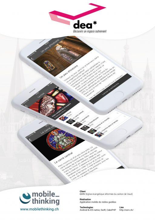 Affiche MobileThinking - Projet dea*