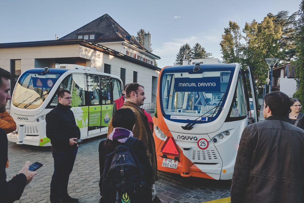 H2020 - AVENUE projet - Application mobile pour véhicules autonome