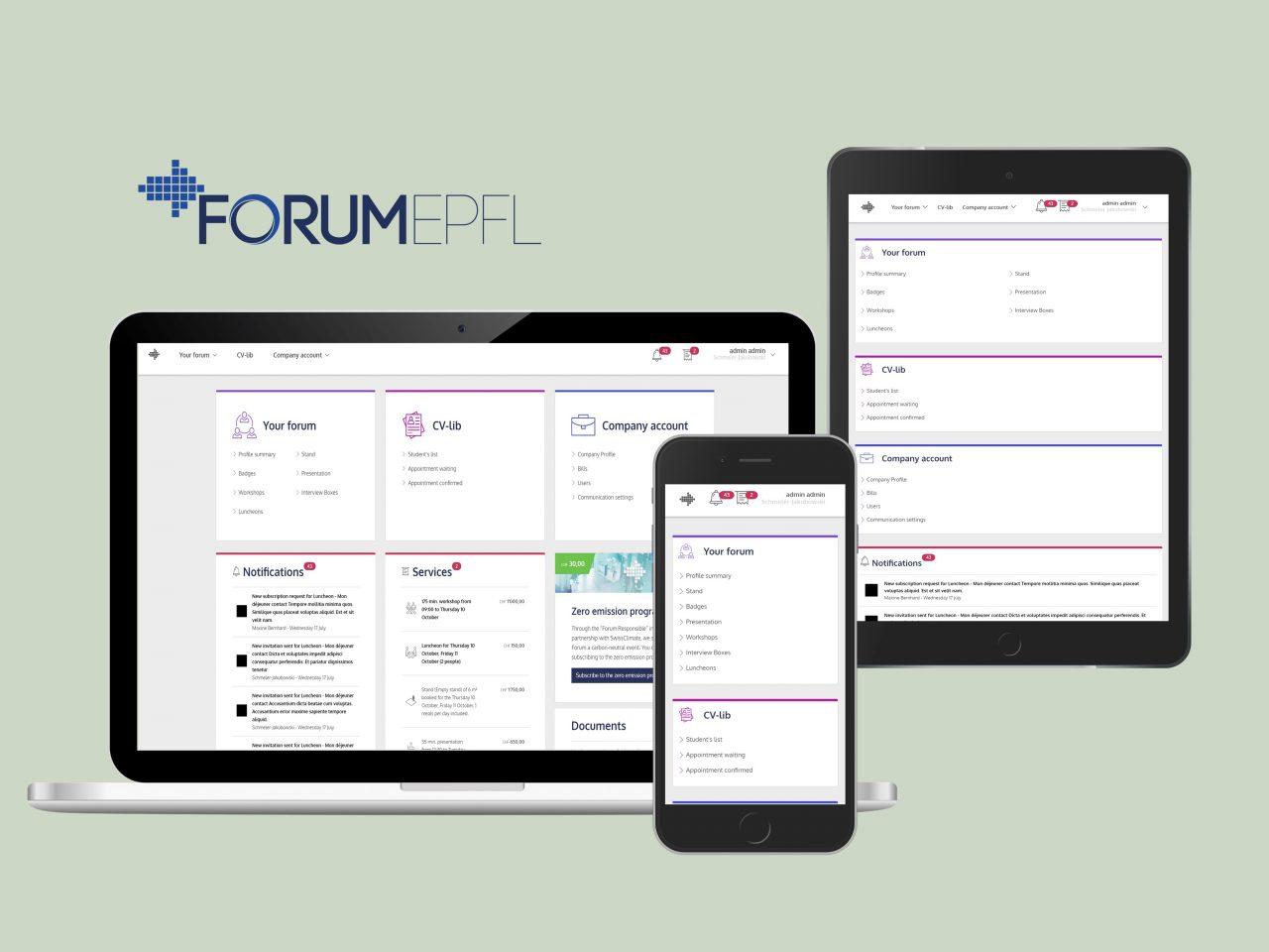Forum EPFL image de présentation
