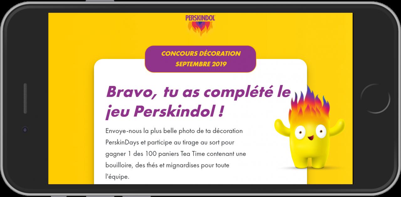 Jeu concours Perskindol - Gagné