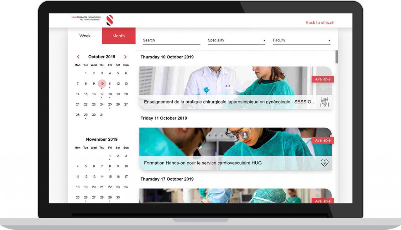 SFITS Application - developpement web et mobile Laravel et Vue.js
