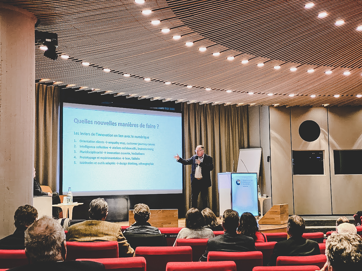 Forum économie numérique - Design Thinking - MVP