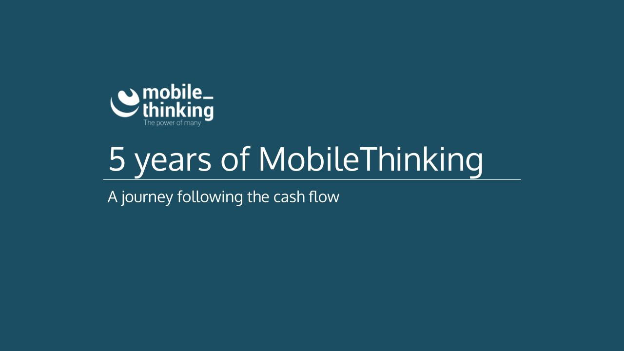 MobileThinking 5 years presentation at USI