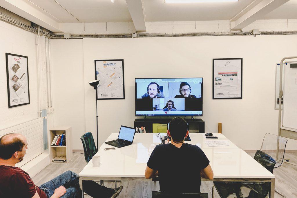 MobileThinking équipe en semi-confinement
