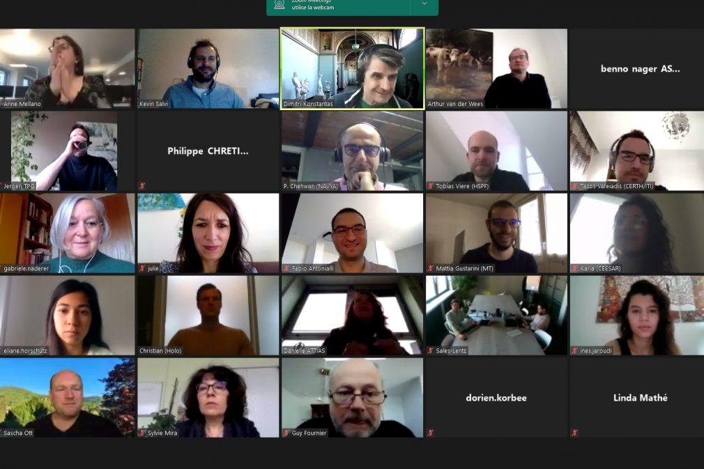 5th AVENUE General meeting - Visio screenshot