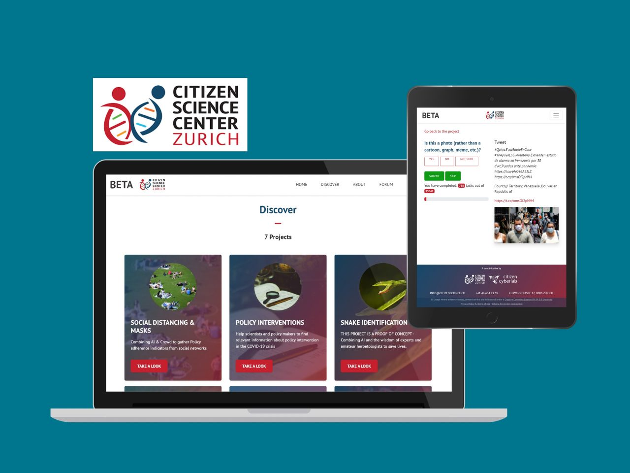Citizen Science Project Builder