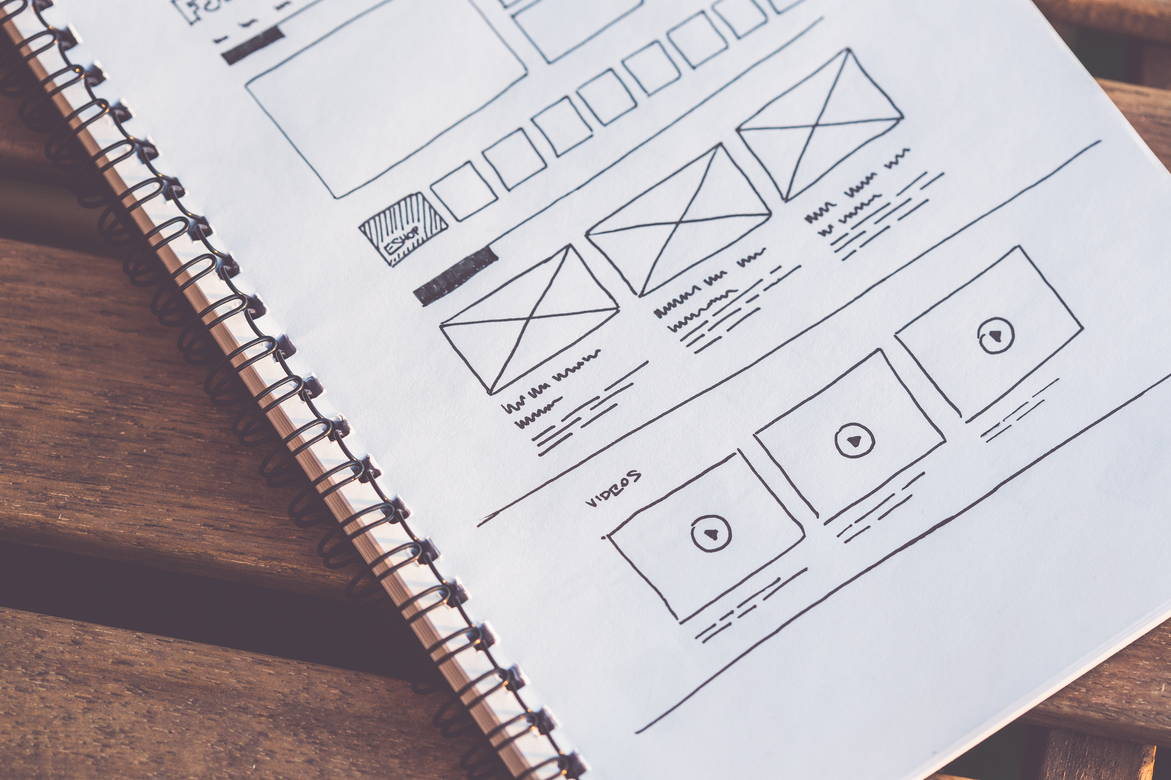 Wireframes application