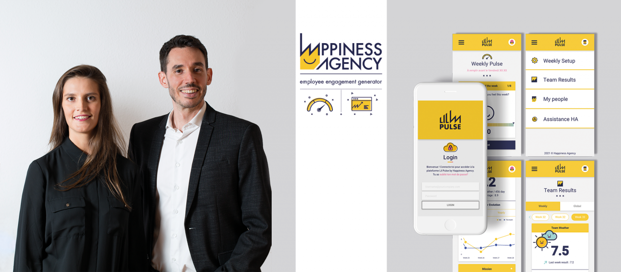 HappinessAgency team and project