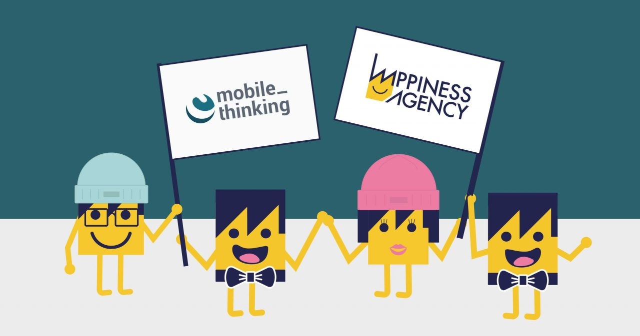 mobilethinking and happiness agency